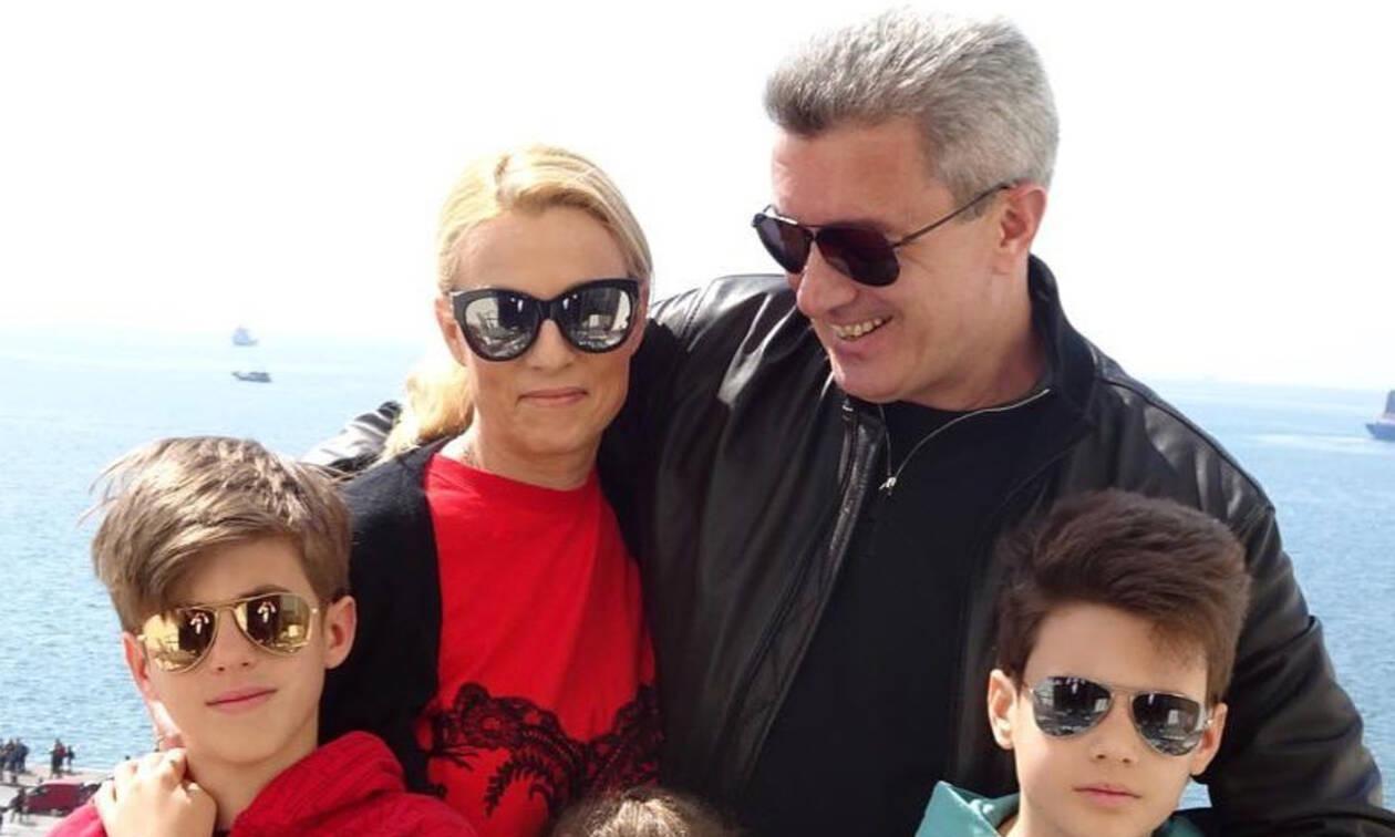 Νίκος Χατζηνικολάου: Οι πιο τρυφερές στιγμές με τα παιδιά του (pics)