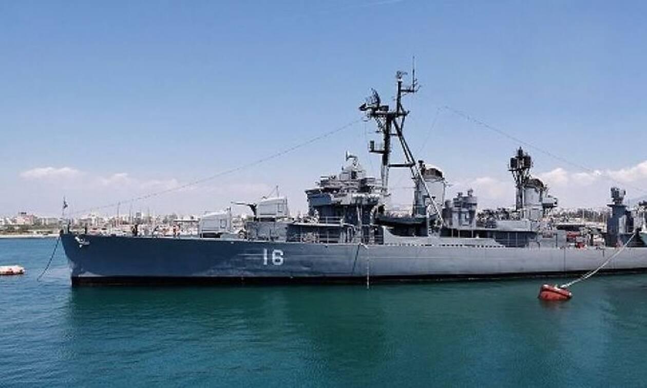 Το θρυλικό αντιτορπιλικό «Βέλος» στο λιμάνι της Θεσσαλονίκης