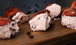 Ρολάκια μπέικον γεμιστά με κρέμα ricotta