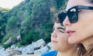 Δέσποινα Βανδή: Οι νέες απίθανες φωτογραφίες με το γιο της, την κόρη της και τον Ντέμη