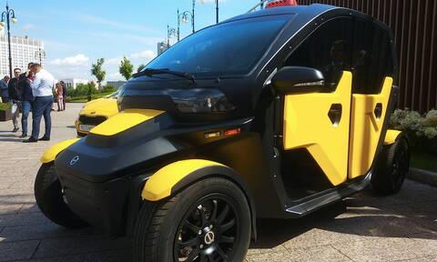 Η Καλάζνικοφ εξελίσσει ηλεκτρικό ταξί για τη Μόσχα (vid)