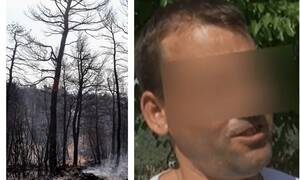 Φωτιά στην Εύβοια: Είναι αυτός ο εμπρηστής; Τι υποστηρίζει ο 33χρονος ύποπτος (vid)