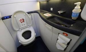 Το ήξερες; Τι συμβαίνει όταν τραβάς το καζανάκι σε αεροπλάνα;