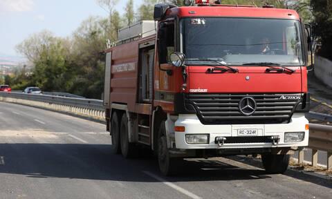 Ορεστιάδα: Τροχαίο με δύο τραυματίες - Τους απεγκλώβισε η Πυροσβεστική