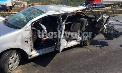 Θεσσαλονίκη: Νεκρός ο οδηγός του τροχαίου στην Εγνατία