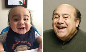 10 αξιολάτρευτα μωρά που είναι φτυστά με επώνυμους σταρ (pics)