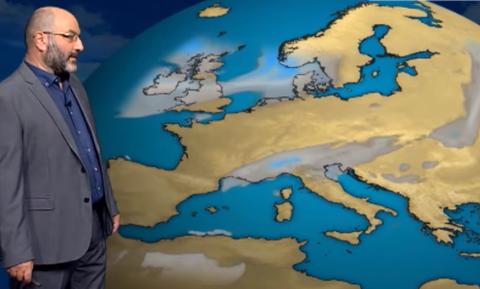 Καιρός: «Προσοχή από σήμερα σε αυτές τις περιοχές». Ο Σάκης Αρναούτογλου προειδοποιεί... (vid)