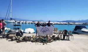 Απίστευτες εικόνες στο Κιάτο: Δύτες βούτηξαν στο λιμάνι - Δείτε τι έκρυβε ο βυθός