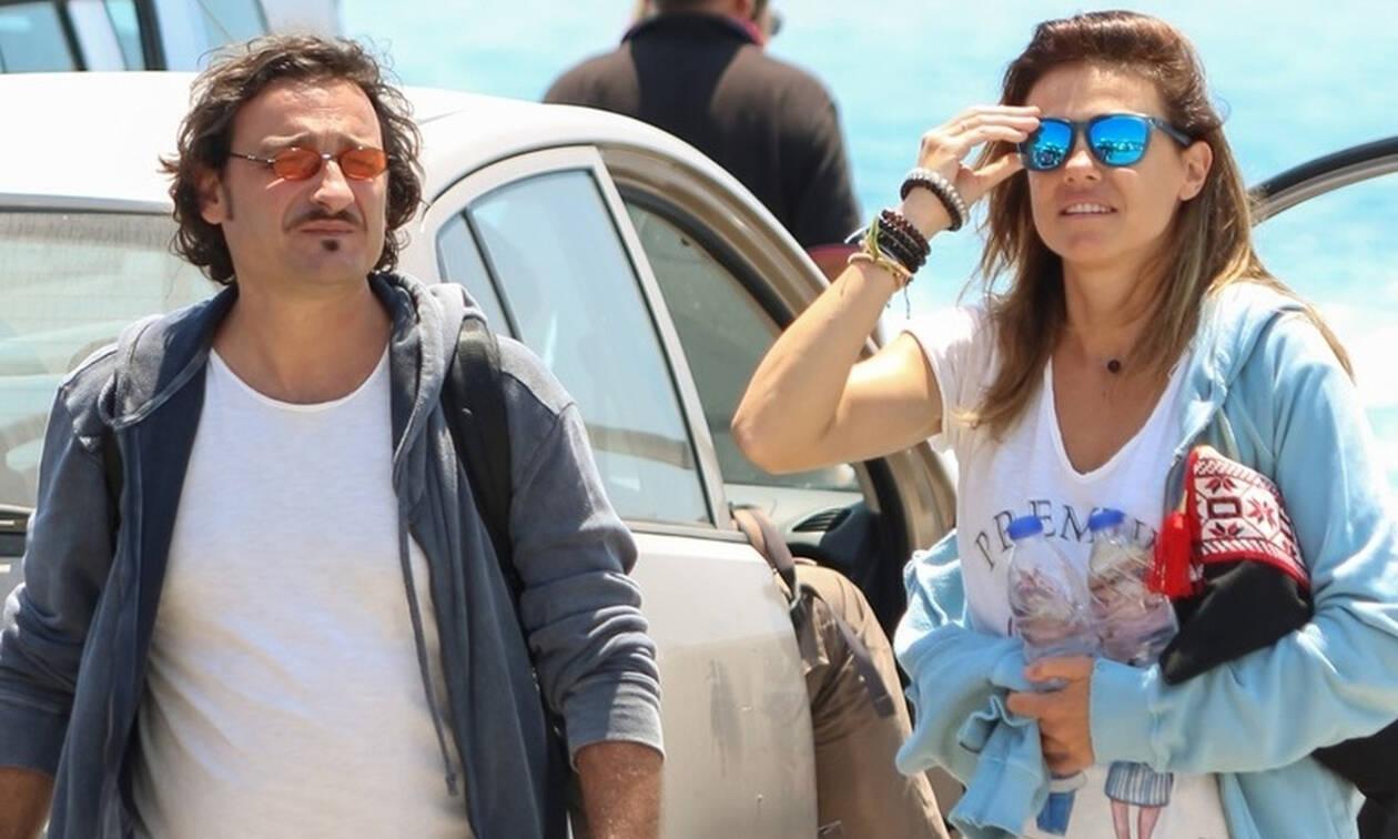Βασίλης Χαραλαμπόπουλος: Στα Κουφονήσια με τη γυναίκα της ζωής του (photos)