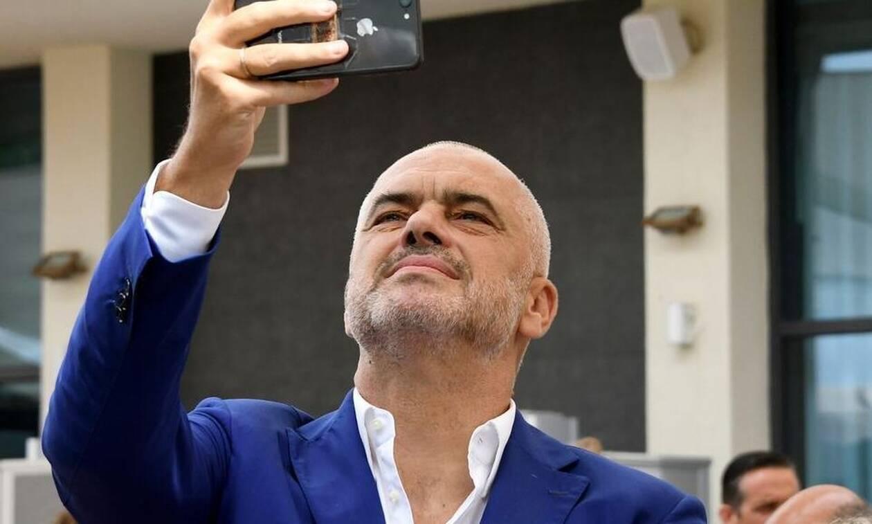 Ινκόγκνιτο στην Ελλάδα ο Αλβανός πρωθυπουργός