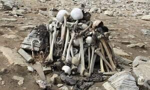 Φρίκη στη «Λίμνη των νεκρών»: Βρέθηκαν σκελετοί Ελλήνων
