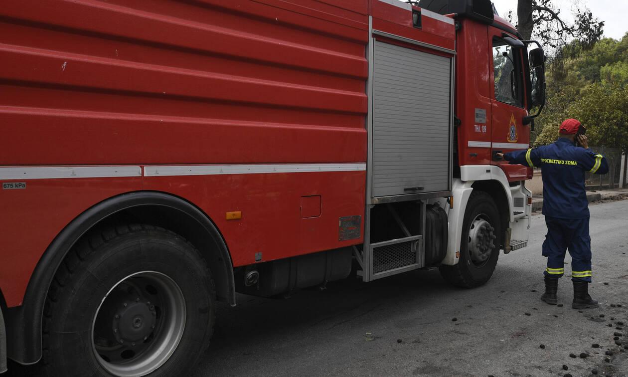 Φωτιά στην Πρέβεζα: Υπό μερικό έλεγχο η πυρκαγιά στον Λούρο