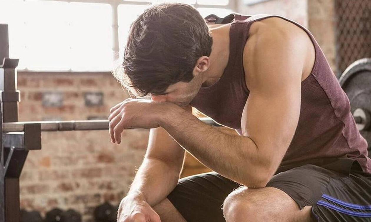 Τα πέντε βασικά λάθη που κάνουν οι άνδρες στη γυμναστική