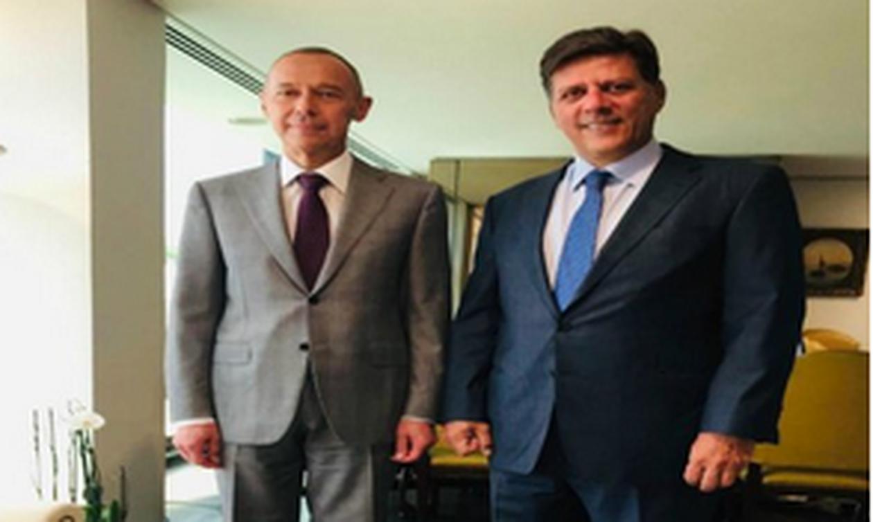 Посол РФ в Афинах А.Маслов встретился с замминистром иностранных дел Греции М.Варвициотисом