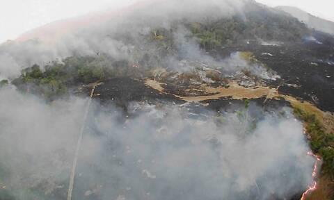 Η... κόλαση επί Γης! Εικόνες Αποκάλυψης στον Αμαζόνιο - Στάχτη ο «πνεύμονας» του πλανήτη (pics-vids)