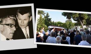 Το τελευταίο «αντίο» στον βιογράφο του Ωνάση, Δημήτρη Λυμπερόπουλο! (photos)