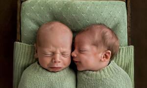 Αυτές οι φωτογραφίες με μωράκια δεν είναι σαν τις άλλες - Δείτε γιατί (pics)