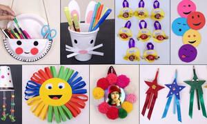 Έντεκα εύκολες και χρήσιμες κατασκευές για παιδιά (vid)