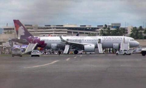 Τρόμος σε πτήση: Δραματικά λεπτά για τους επιβάτες - Δείτε τι συνέβη (vid)