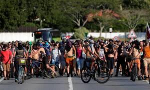 Γαλλία: 17 συλλήψεις και 4 αστυνομικοί τραυματίες, στις πρώτες διαδηλώσεις ενάντια στη σύνοδο της G7