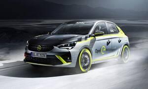 Η Opel παρουσιάζει το πρώτο της αγωνιστικό ηλεκτρικό για το ενιαίο ADAC Opel e-Rally Cup