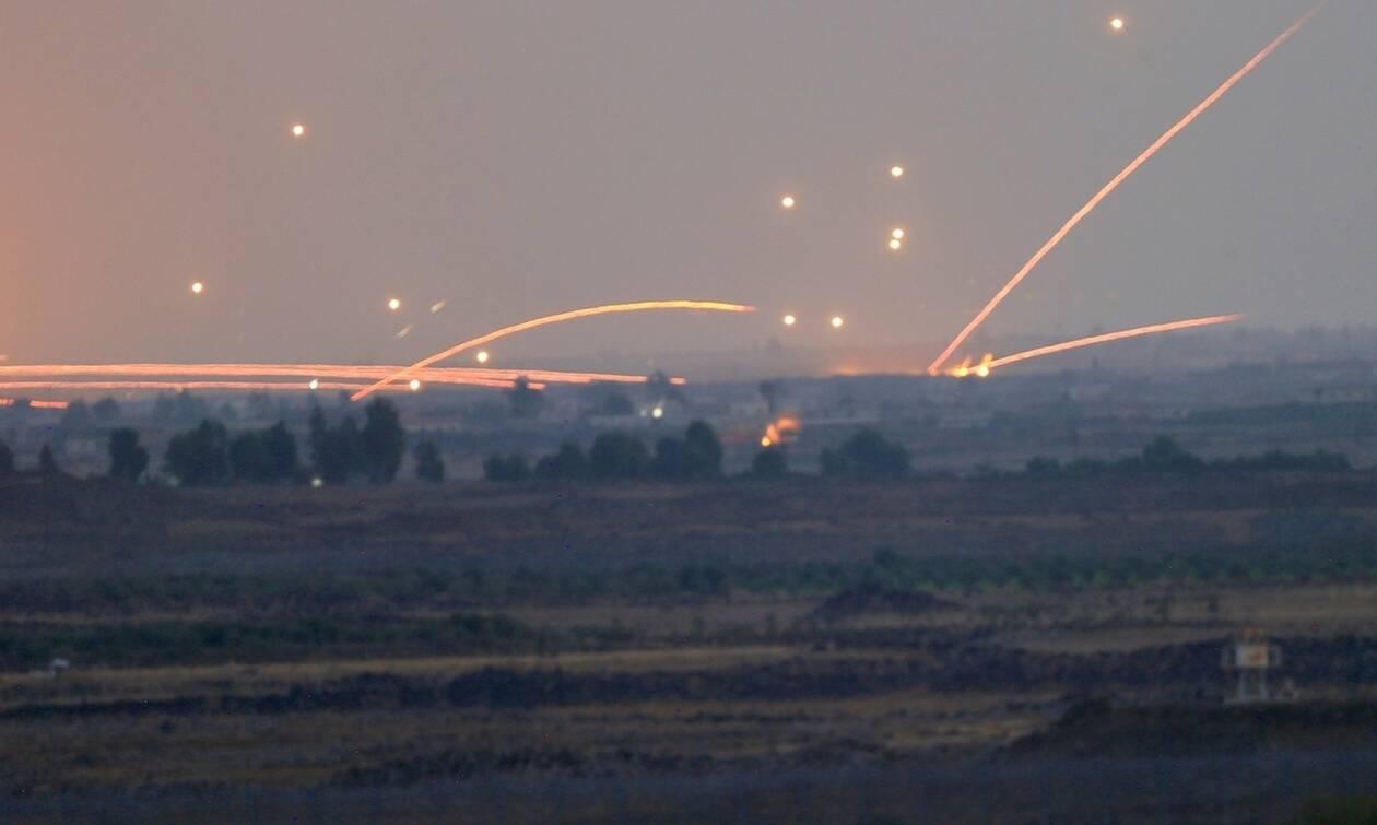 Ισραηλινή αεροπορική επιδρομή εναντίον ιρανικών δυνάμεων στο νότιο τμήμα της Δαμασκού