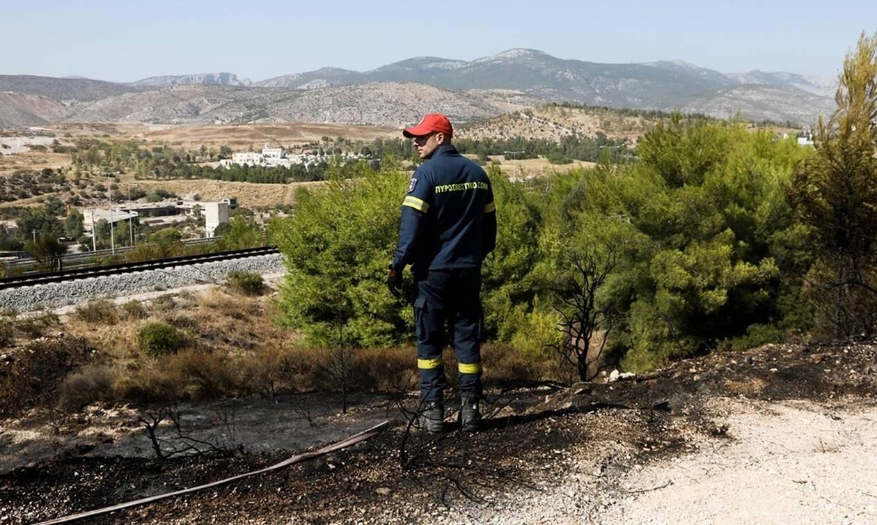 Πολύ υψηλός κίνδυνος πυρκαγιάς! Ο χάρτης πρόβλεψης κινδύνου για την Δευτέρα (26/08)