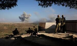 Ισραηλινά αεροσκάφη βομβάρδισαν θέσεις της Χαμάς στη Γάζα
