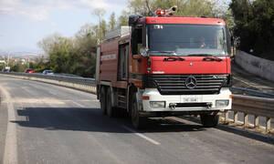 Θεσσαλονίκη: Φωτιά σε εγκαταλελειμμένο οίκημα στην Άνω Πόλη