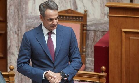 Live στην Βουλή ο Μητσοτάκης: Ανακοινώνει την άρση των Capital controls