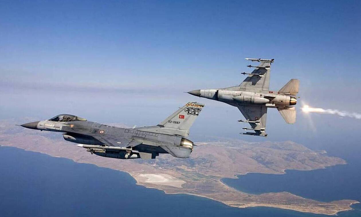 Νέες τουρκικές παραβιάσεις πάνω από το Μακρονήσι