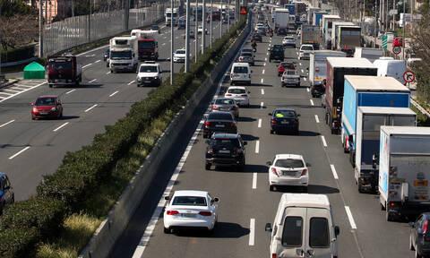 Προσοχή! Κυκλοφοριακές ρυθμίσεις στην Αθηνών-Λαμίας στο ύψος του Αγ. Στεφάνου