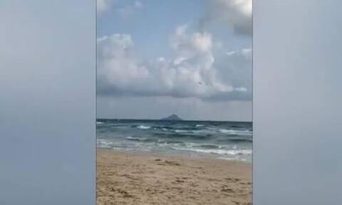 Iσπανία: Συνετρίβη στρατιωτικό αεροσκάφος στη θάλασσα - Νεκρός ο πιλότος (vid)