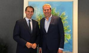 Με τον νέο ΓΓ του ΕΟΤ συναντήθηκε ο υπουργός Τουρισμού