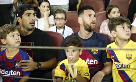 Άναυδος ο Μέσι με το γιο του: Δείτε τι έκανε (vid)