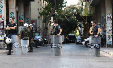 Греческая полиция проводит операцию «Метла» в центре Афин