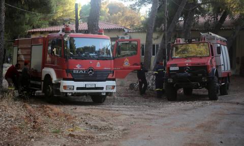 Φωτιά ΤΩΡΑ στην Καβάλα