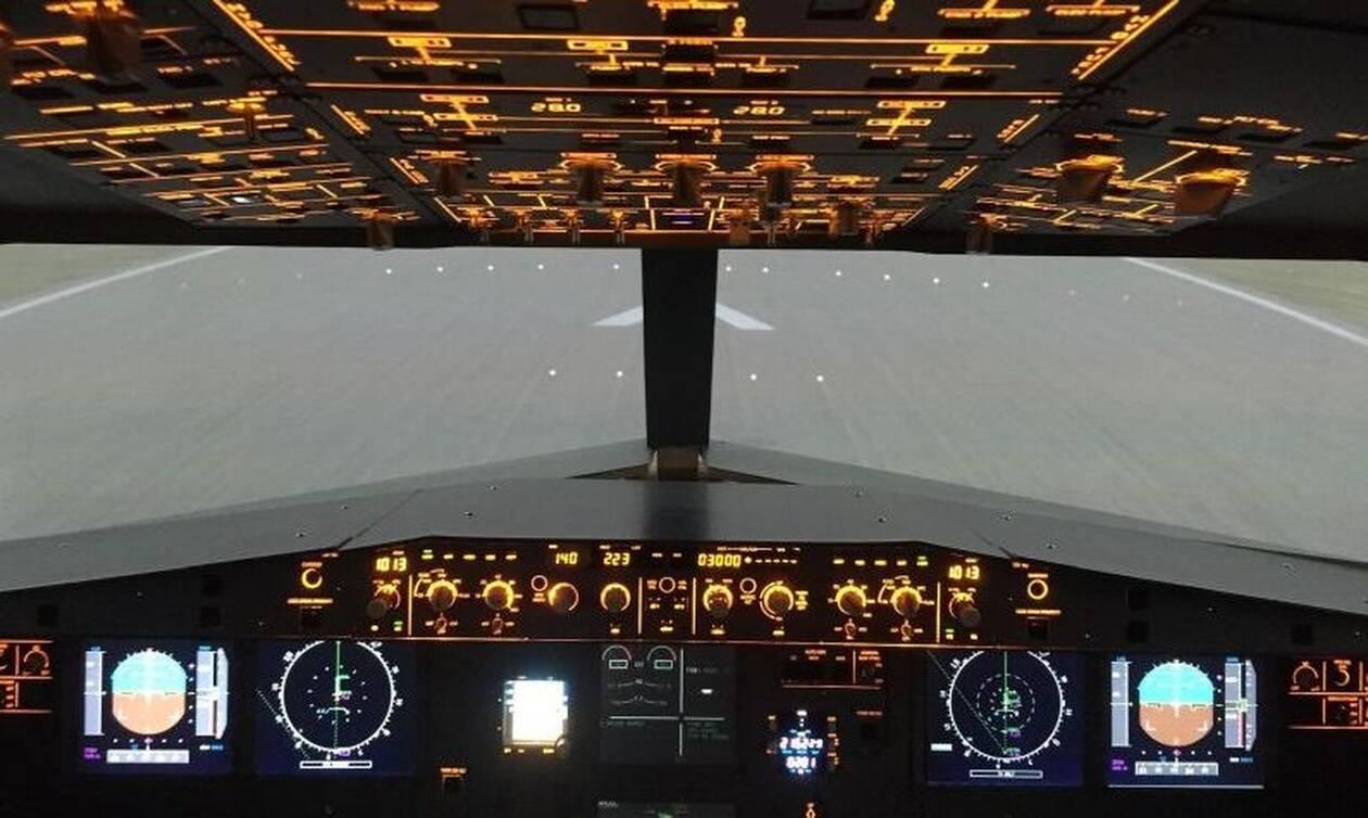 Τρόμος στον αέρα: Πιλότος λιποθύμησε εν ώρα πτήσης - Δείτε τι συνέβη (vid)