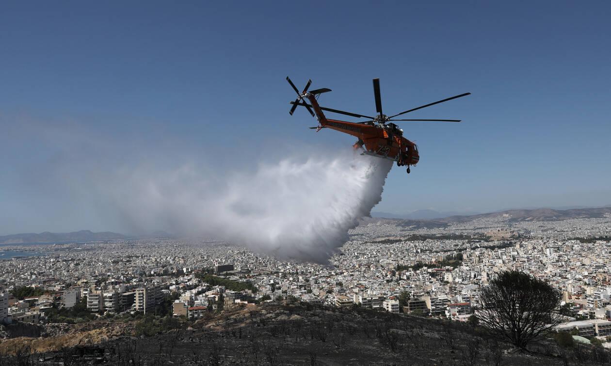 Φωτιά ΤΩΡΑ: Μάχη με τις φλόγες σε Δράμα, Δελφούς και Αρτέμιδα