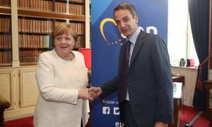 Συνάντηση Μέρκελ - Μητσοτάκη: Στην ατζέντα επενδύσεις, μεταρρυθμίσεις και μεταναστευτικό