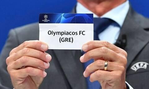 Κλήρωση Champions League: Αυτοί είναι οι αντίπαλοι του Ολυμπιακού Olympiacos-draw