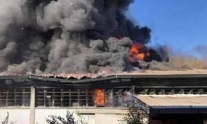 Τραγωδία στην Κύπρο: Εντοπίστηκε νεκρός σε φλεγόμενο εργοστάσιο στη Λευκωσία