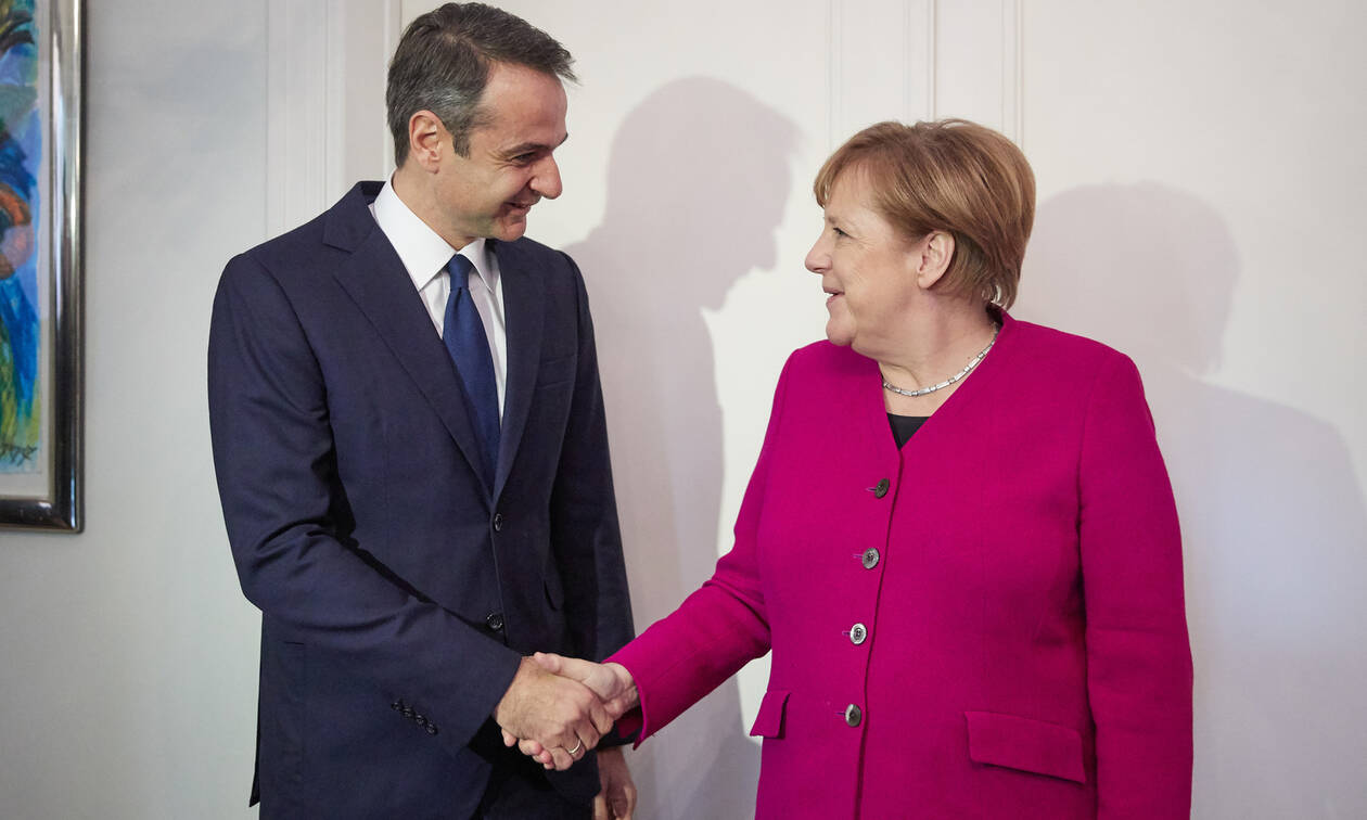 Growth, investment, migration dominate Mitsotakis-Merkel's agenda