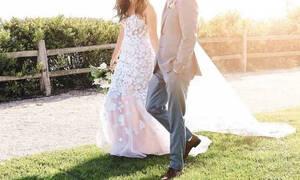 Πασίγνωστη πρωταγωνίστρια παντρεύτηκε και αυτές είναι οι πρώτες φωτό του γάμου