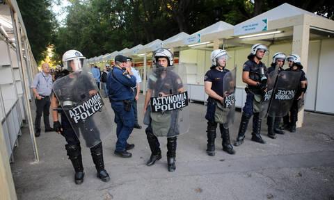 Χημικά πριν την ορκωμοσία Πατούλη - Διαμαρτυρία για το ΧΥΤΑ Φυλής (pics)