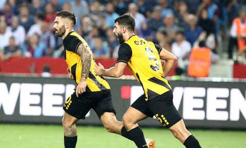 Πάει για το θαύμα η ΑΕΚ, προηγείται 2-0 της Τραμπζονσπόρ στην Τουρκία!