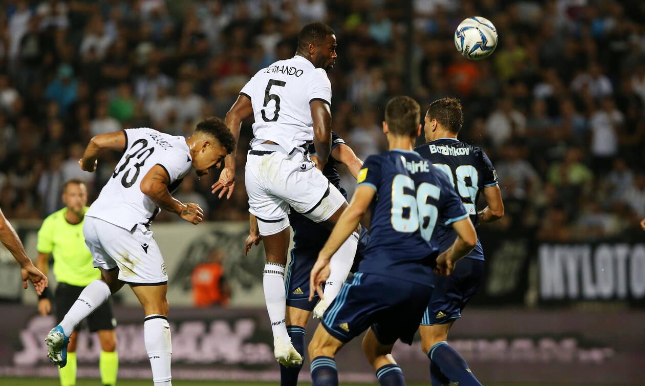 ΠΑΟΚ-Σλόβαν Μπρατισλάβας 3-2: Λύγισε και αποκλείστηκε