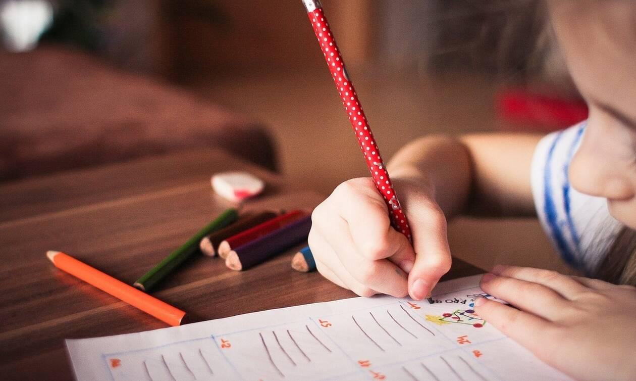 Ασκήσεις προγραφής για το σπίτι για παιδιά νηπιακής ηλικίας