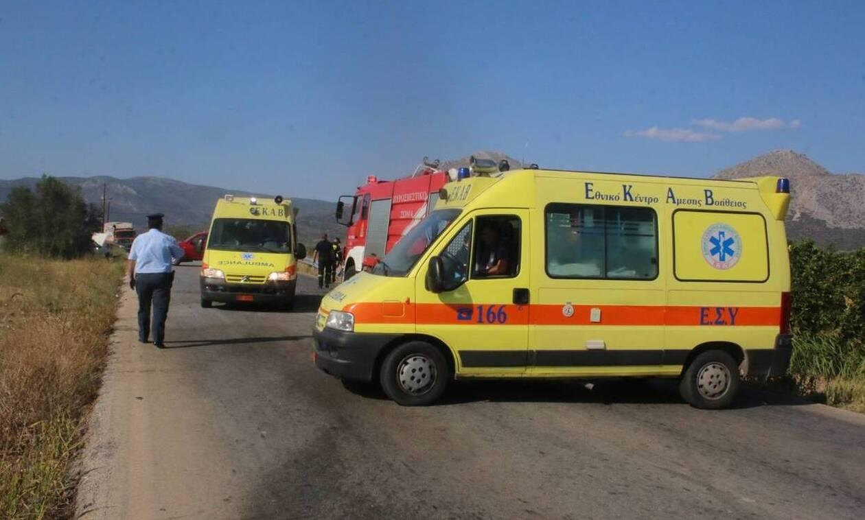 Καραμπόλα έξω από τα Γιαννιτσά – Μία τραυματίας