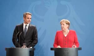 Меркель и Мицотакис обсудили возможность расширения сотрудничества между Германией и Грецией